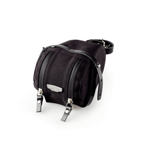 Brooks Isle of Wight Bolsa de sillín Pequeño, black